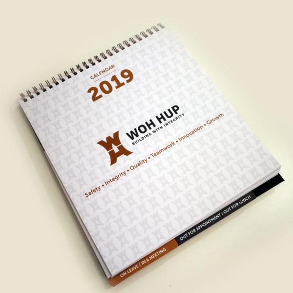 Wohup Calendar 2019